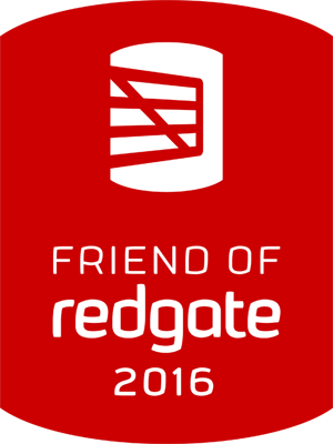 Friend of Redgate 2016